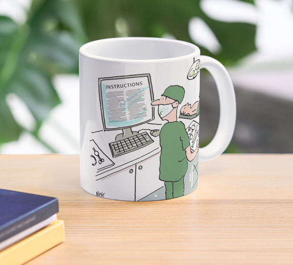 Mug as a gift for a surgeon